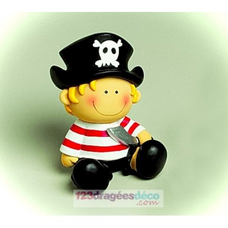 Figurine Pirate à dragées