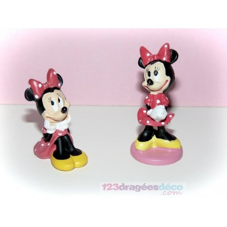 Figurine Minnie disney (x2)