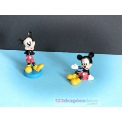 Figurine Mickey disney (x2)